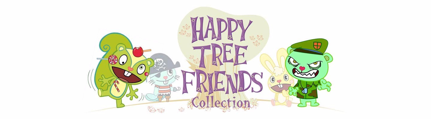 Футболки Happy Tree Friends